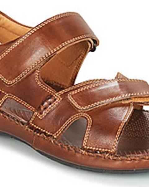Hnědé sandály Pikolinos