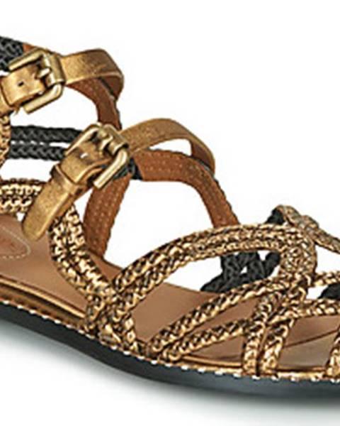 Zlaté sandály See By Chloe