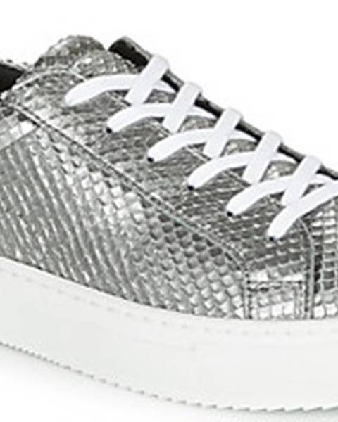 Stříbrné tenisky Ikks