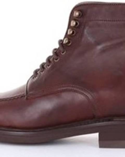 Hnědé boty Berwick 1707
