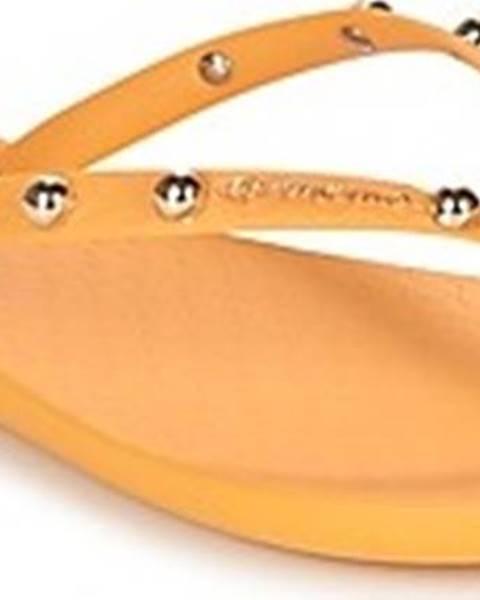 Žluté pantofle ipanema