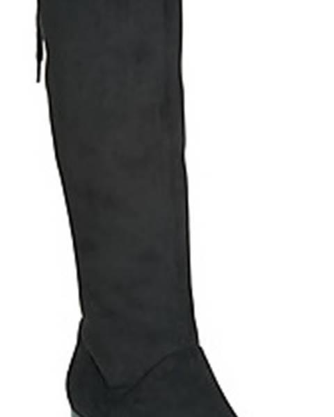 Černé kozačky Caprice