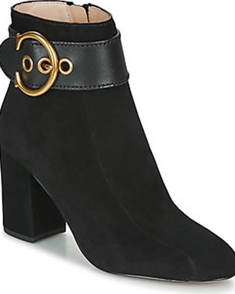 Černé boty Coach