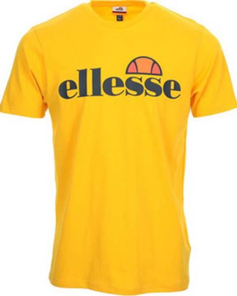 Žluté tričko Ellesse