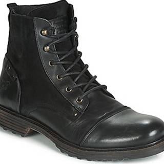 Mustang Kotníkové boty 4926502-11 Černá