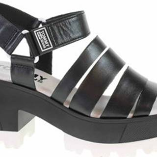 Sandály Dámské sandály EN0EN00831 BDS black Černá