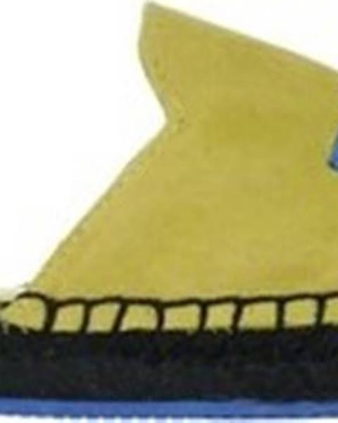 Žluté pantofle puma