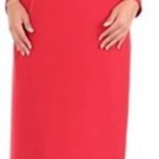 Alberta Ferretti Krátké šaty A04031625 Červená