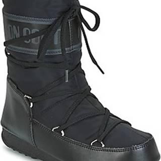 Moon Boot Zimní boty MOON BOOT SOFT SHADE MID WP Černá