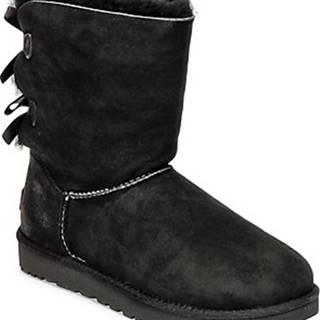 UGG Kotníkové boty BAILEY BOW II Černá