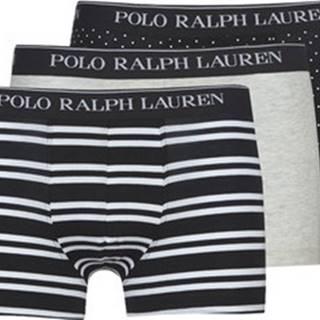 Polo Ralph Lauren Boxerky CLSSIC TRUNK-3 PACK-TRUNK Černá