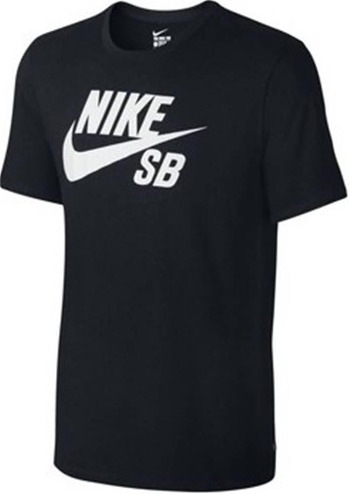 nike Nike Trička s krátkým rukávem SB Logo Tee Černá