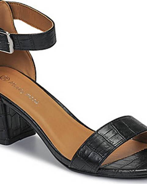 Černé sandály Moony Mood