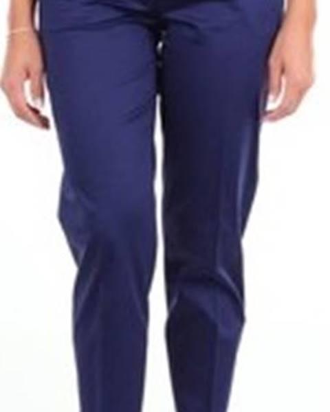 Modré kalhoty Moschino