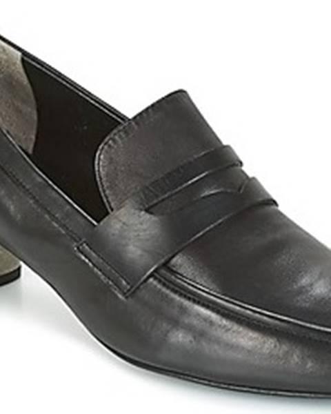 Černé boty Robert Clergerie