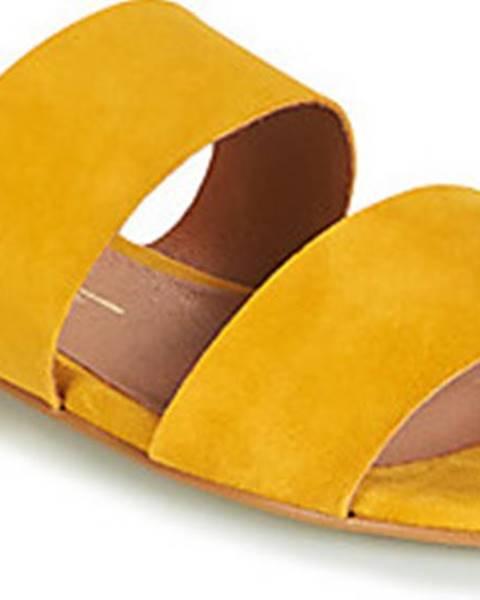 Žluté pantofle Betty London