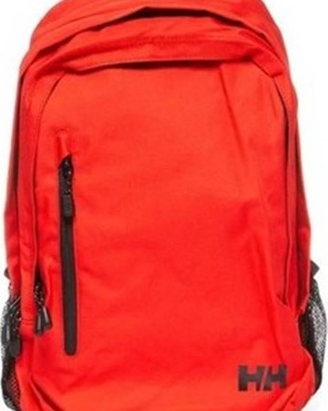 Červený batoh helly hansen