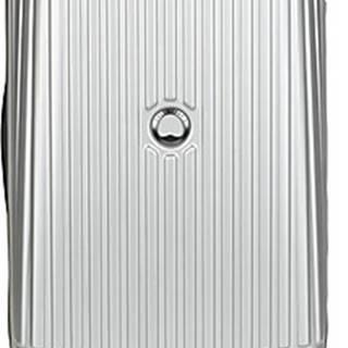 Delsey Kufry pevné SECURITME ZIP 55 CM 4 DOUBLE WHEELS TROLLEY Stříbrná