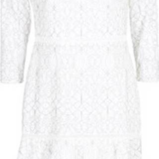 Lauren Ralph Lauren Krátké šaty LONG SLEEVE-LACE DAY DRESS Bílá