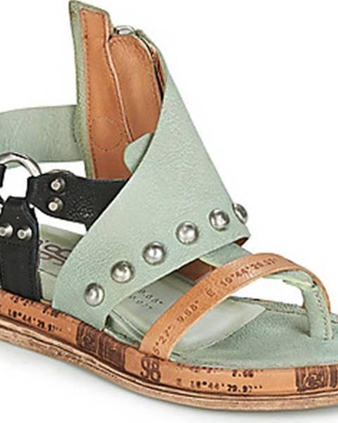 Zelené sandály Airstep / A.S.98