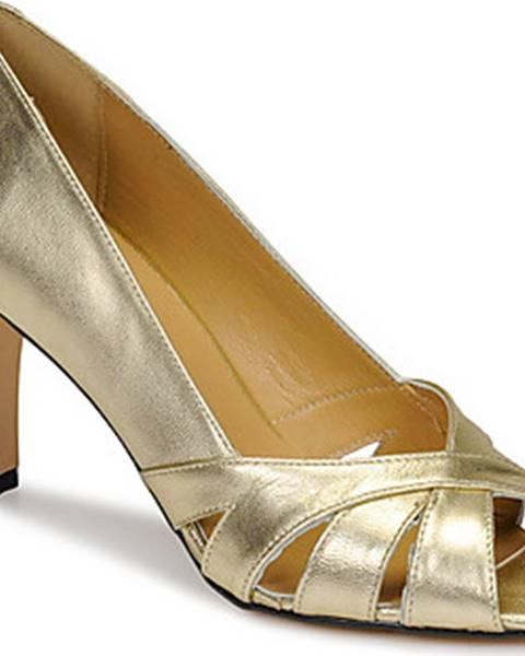 Stříbrné boty Betty London