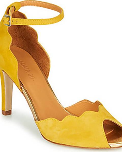 Žluté sandály Emma Go