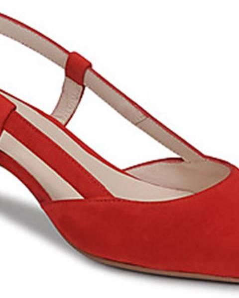 Červené boty Fericelli