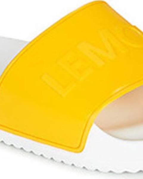 Bílé pantofle Lemon Jelly