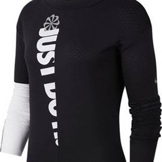 Nike Trička s dlouhými rukávy Therma Sphere Icon Clash W Černá