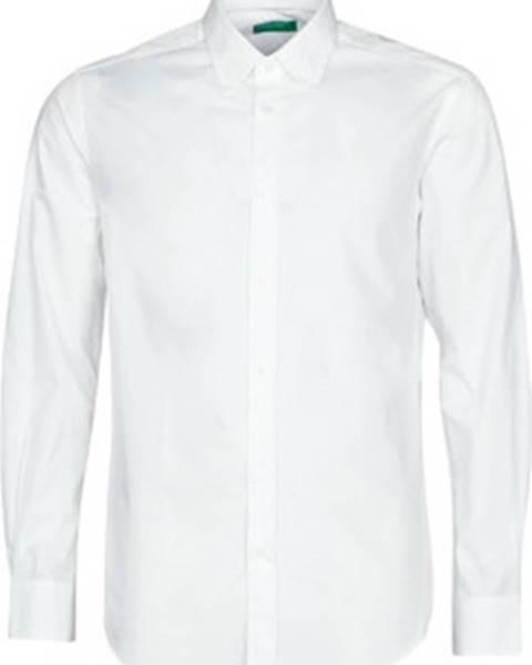 Bílá košile Benetton