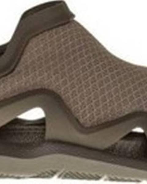 Hnědé sandály crocs