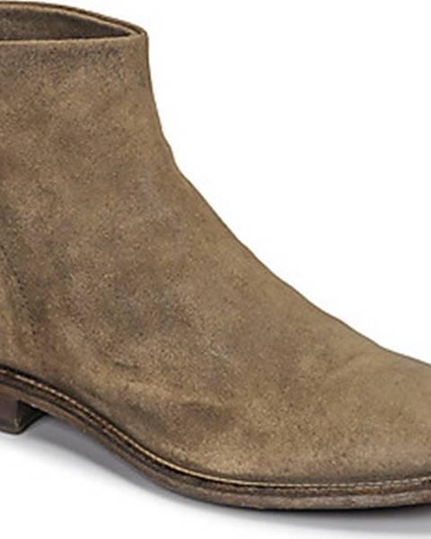 Béžové boty Moma