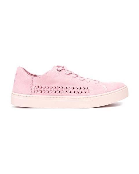 Růžové tenisky toms