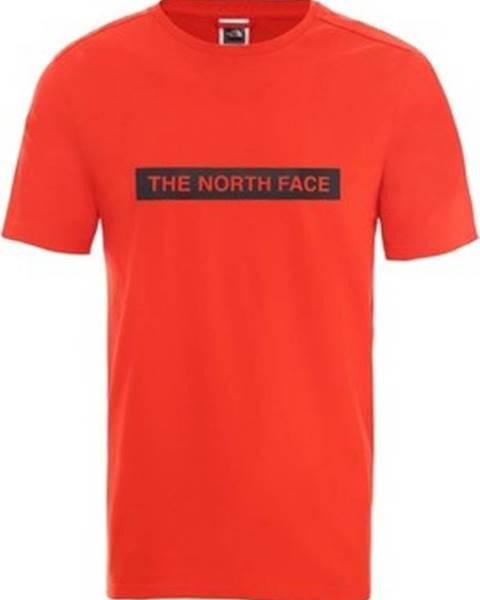 Červené tričko The North Face