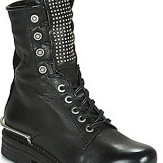 Airstep / A.S.98 Kotníkové boty BRET METAL Černá