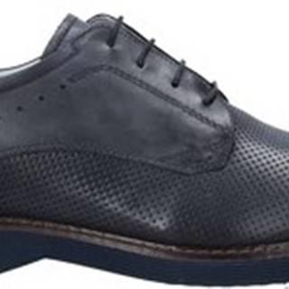 Nero Giardini Šněrovací společenská obuv E001462U Modrá
