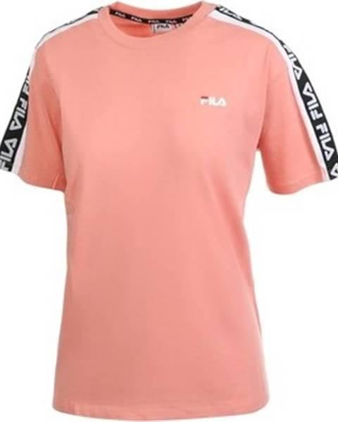 Růžový top fila