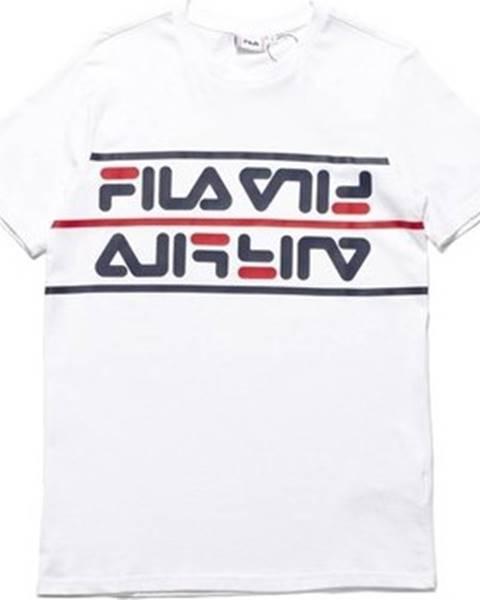 Bílé tričko fila