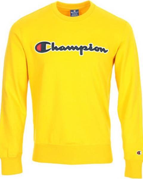 Žlutá mikina champion