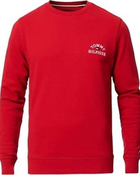 Červená mikina tommy hilfiger