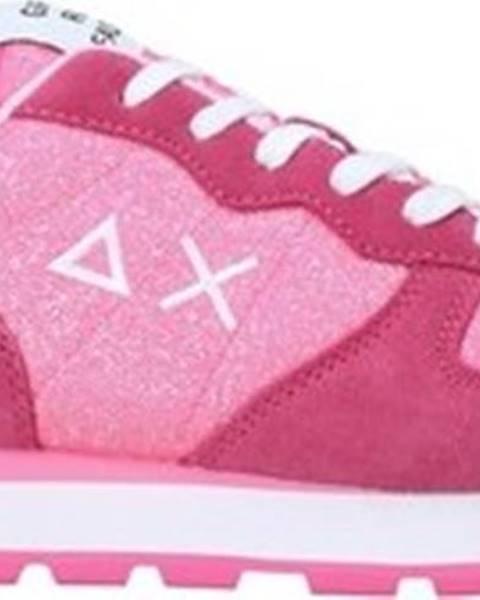 Růžové tenisky SUN68