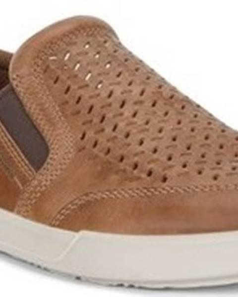 Hnědé boty Ecco