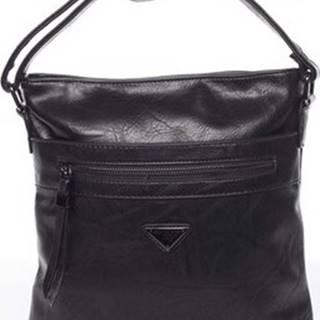 Delami Kabelky s dlouhým popruhem Trendy měkká crossbody kabelka černá - Devyn Černá