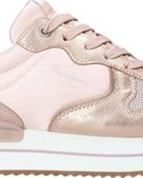 Růžové tenisky pepe jeans