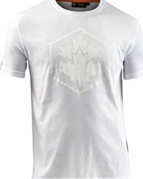 Bílé tričko LUMBERJACK