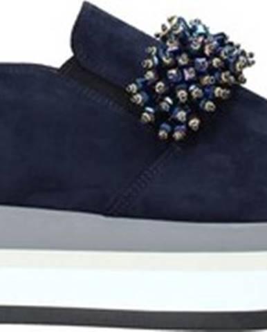 Grace Shoes Street boty 331015 Modrá