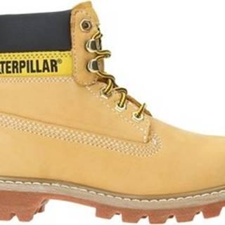 Caterpillar Kotníkové boty P306831 Žlutá