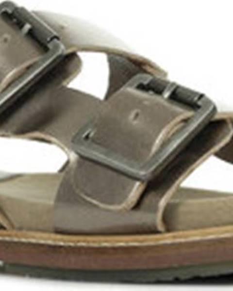 Hnědé sandály Kickers