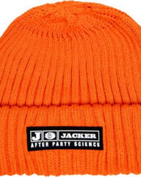 Oranžová čepice Jacker