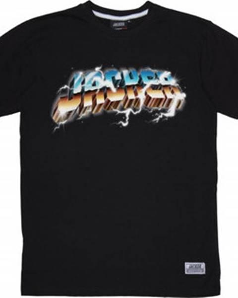 Černé tričko Jacker